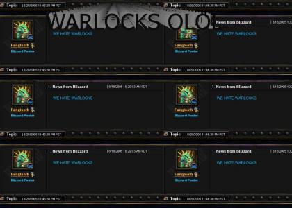 Blizzard hates warlocks