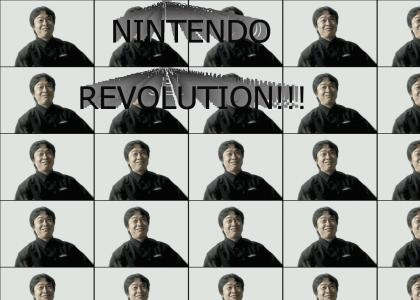 Nintendo Revolution Start-Up