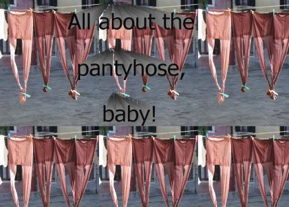 All about the pantyhose!