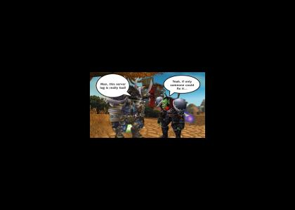 MacGyver Saves World of Warcraft