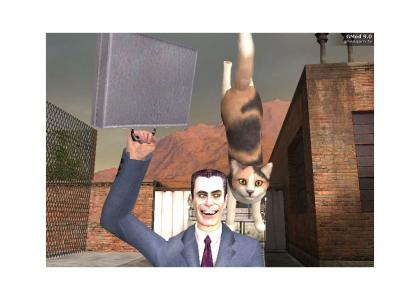 Gravity Cat finally achieves Enlightenment in Garry's Mod