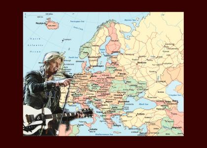 David Bowie teaches geography.