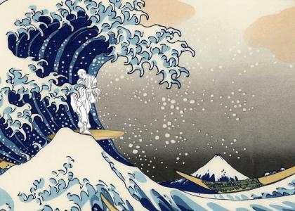 Surfin' Hokusai