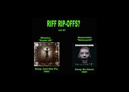 Riff Rip-Offs Vol 57 (Ministry v. Rammstein)