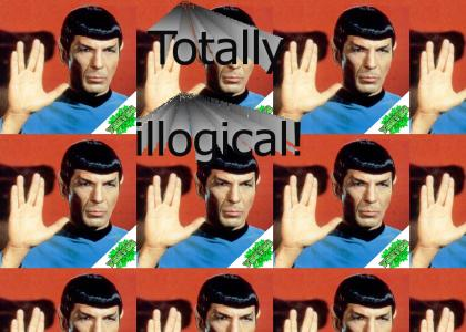 YESYES: Spock gives advice