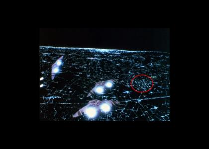 Battlestar Galactica says F**K OFF!