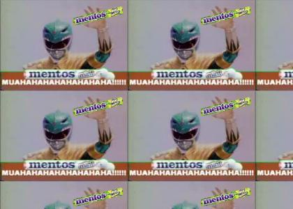 Evil Green Ranger Mentos Ad....
