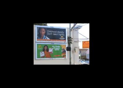 Irony in advertising