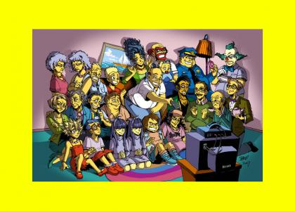 Real-life Simpsons would be creepy