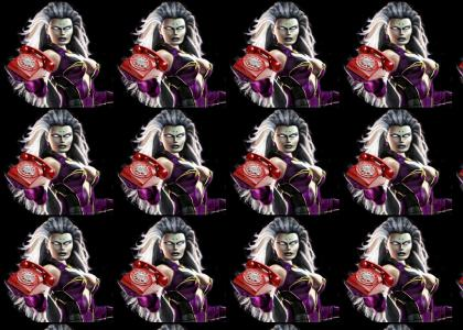 Crazy Telemarketer Lady is.. MK Sindel!