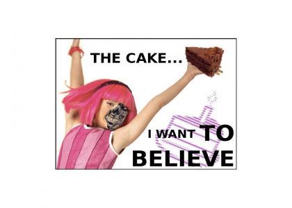 Lazytown Cake Isn't a Lie