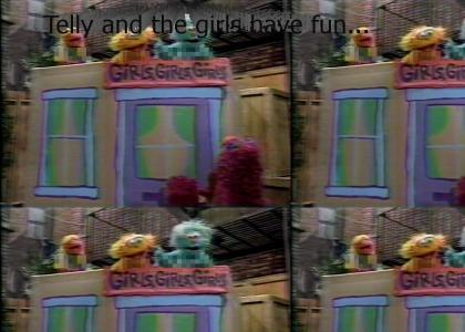 Grover isn't the only pervert on Sesame Street...