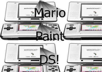 Mario Paint DS!
