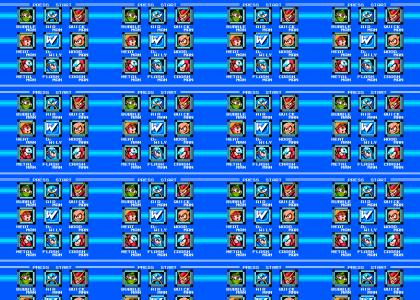 MegaMan 2 Stage Select