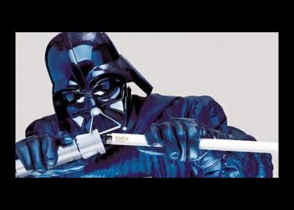 Vader broke his lightsaber