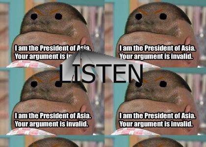 Better listen to him...