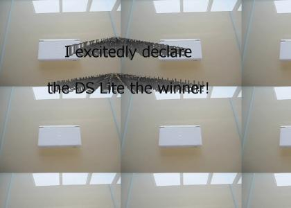 The DS lite wins!