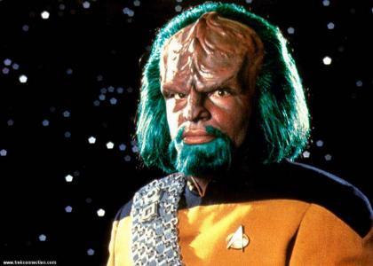 Worf dies honorably.