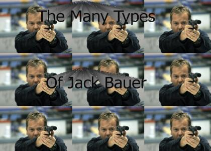 The ManyTypes of Jack Bauer