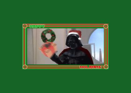Merry Christmas From Lord Vader
