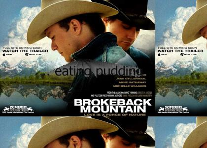 Two Gay Cowboys Eatin' Puddin'