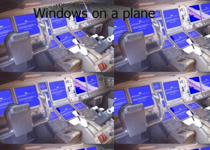 Windows on a plane (new sound)