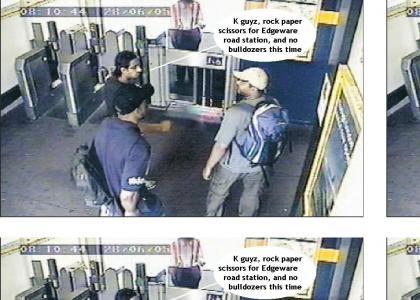 London terrorists showdown