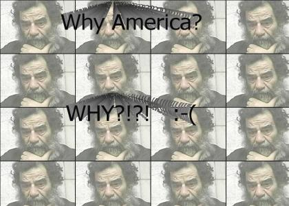 Poor Saddam