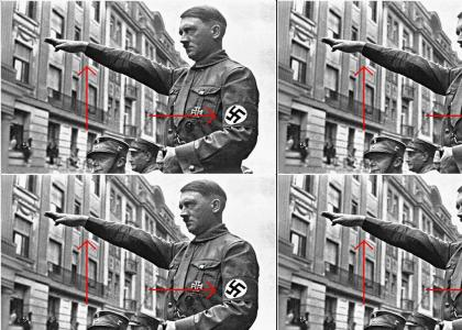 OMG, secret Nazi Hiter!