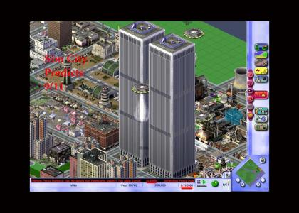 Sim City 3000 Predicted 9/11