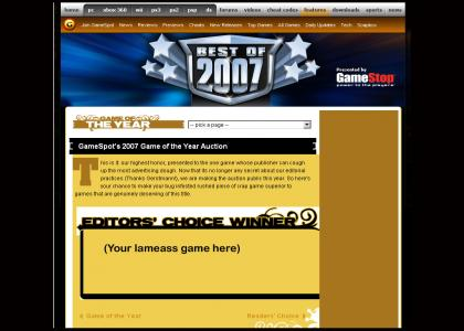 Gamespot GotY 2007 announced...