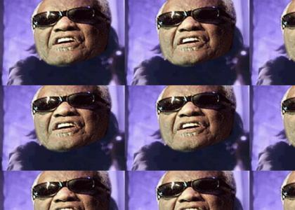 Ray charles stamping your certificate