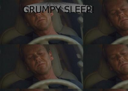Jack Bauer is SLEEPING AGAIN?