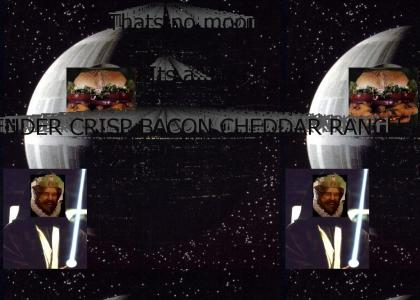 Thats No Moon... Its A Tender Crisp Bacon Cheddar Ranch!