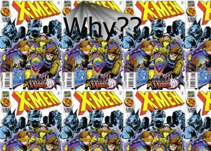 Shredder's favorite comic is ruined
