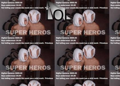 Shit Stain Superhero