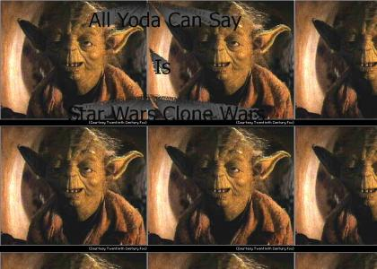 All Yoda Can Say Is Star Wars Clone Wars