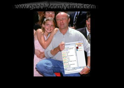 PHIL COLLINS LOVES GABBLY