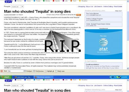 """RIP """"Tequila Man"""" - Danny Flores"""