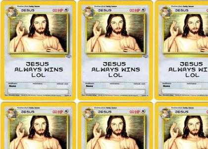 Jesus Pokemon Card
