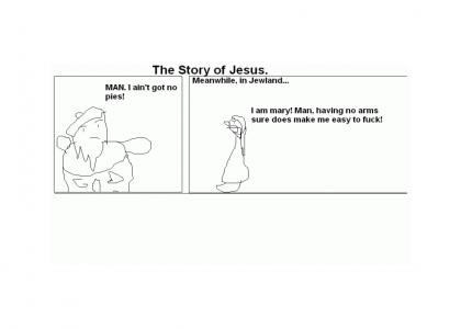 The Story of Jesus - As told by MS Paint
