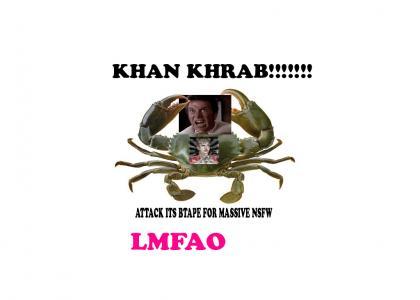 REPOSTMND: Giant NSFW Khancrab