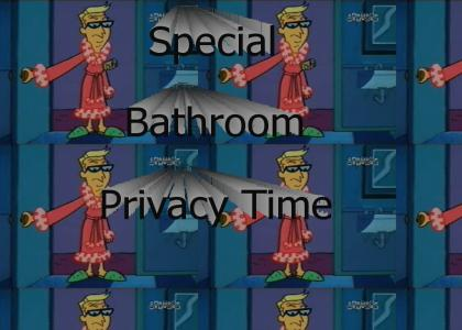 Daddy's Special Bathroom Privacy Time