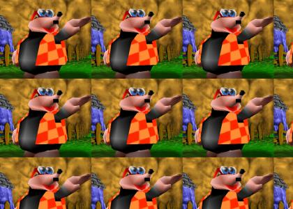 Secret Nazi found in Banjo-Kazooie!!!