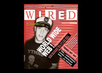 "Max makes the cover of ""Wired"" !"
