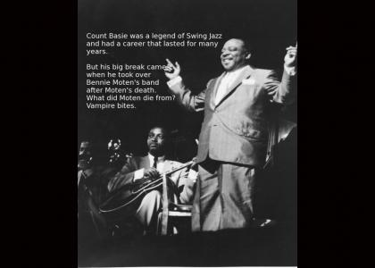 Legends of Jazz- #18: Count Basie (Not Funny)