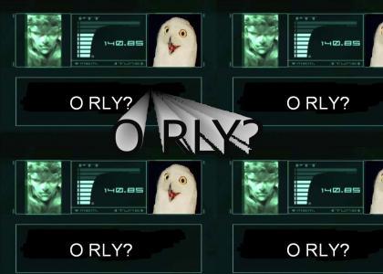 Metal Gear O RLY?