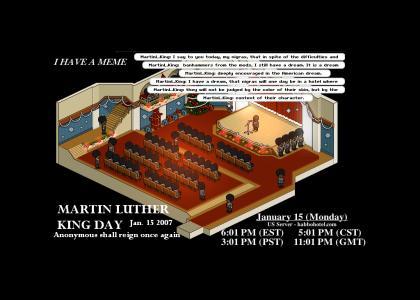 Habbo Hotel Raid - MLK Day