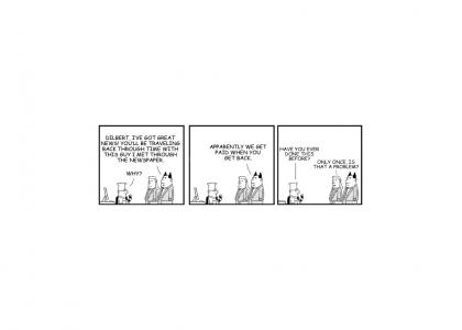 Dilbert Meets the Time Traveler (Continuity Fixed)