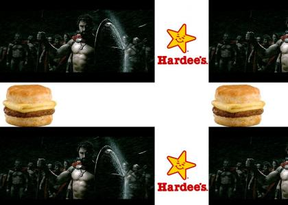 Spartans Eat At Hardees